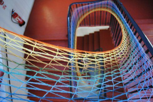 Stairwell Weave-In